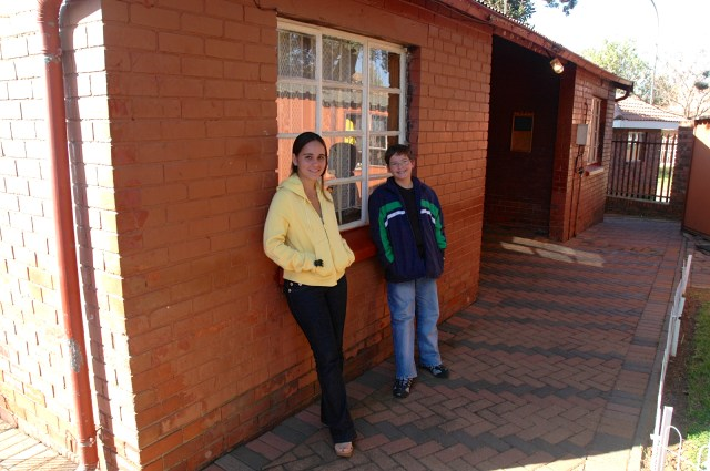 A casa onde viveu Nelson Mandela no Soweto.