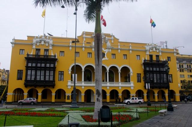 Casa típica da Praça Mayor.