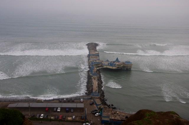 A influência da Corrente de Humboldt é vital para o Peru.
