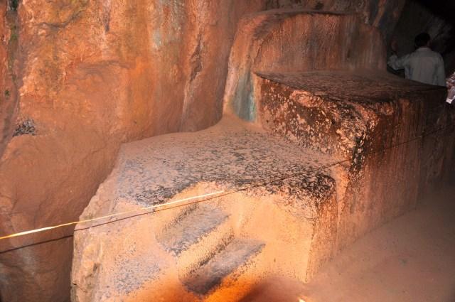 O sítio arqueológico Quenko em homenagem à Mãe Terra - Pachamama