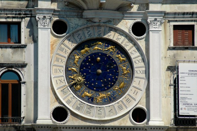 O Grande Relógio de Veneza.