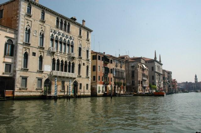 Os palácios do Grande Canal