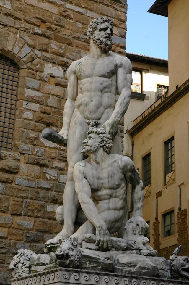 Hércules e Caco de Baccio Bandinelli