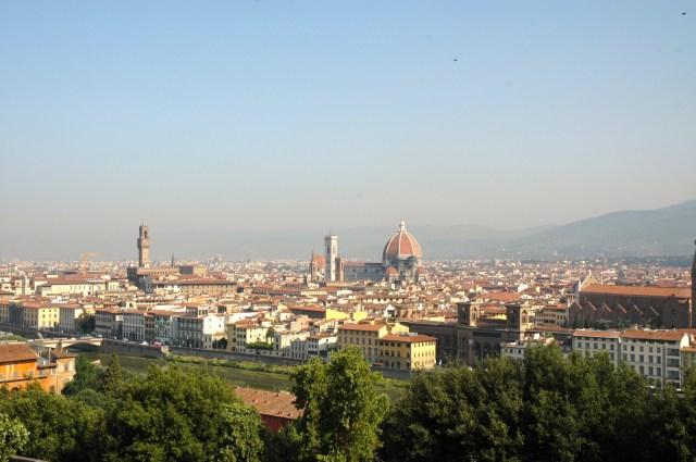 A cidade de Florença, no coração da Toscana.
