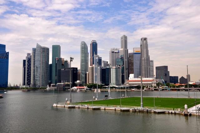 O Sky Line de Singapura