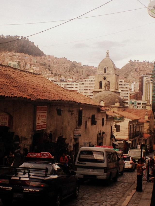 Centro de La Paz. A caminho da Calle de Las Brujas