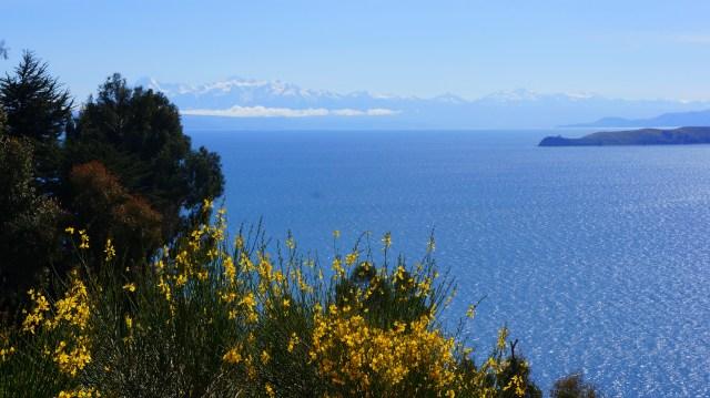 Lago Titicaca - Vista do Hostel