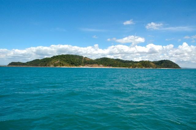 A Ilha dos Frades e a Ponta de Nossa Senhora.