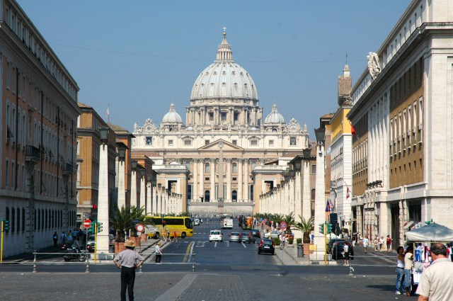 A porta de entrada do Vaticano