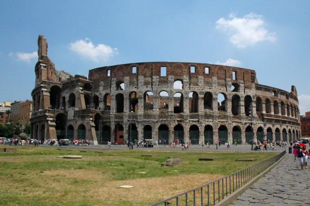 O Coliseu Romano.