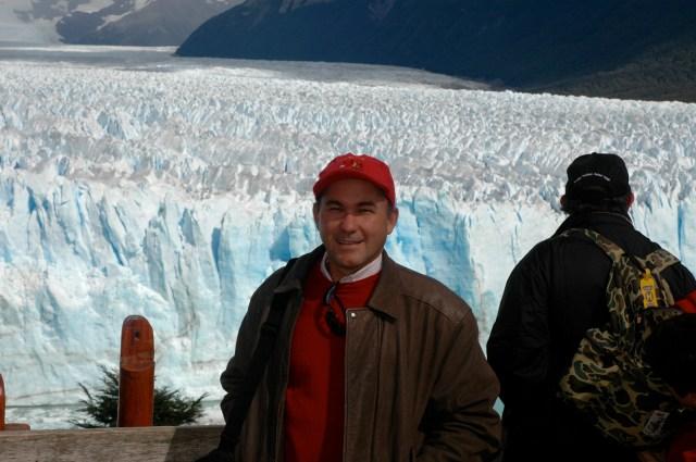 Mirante do Glaciar perito Moreno.