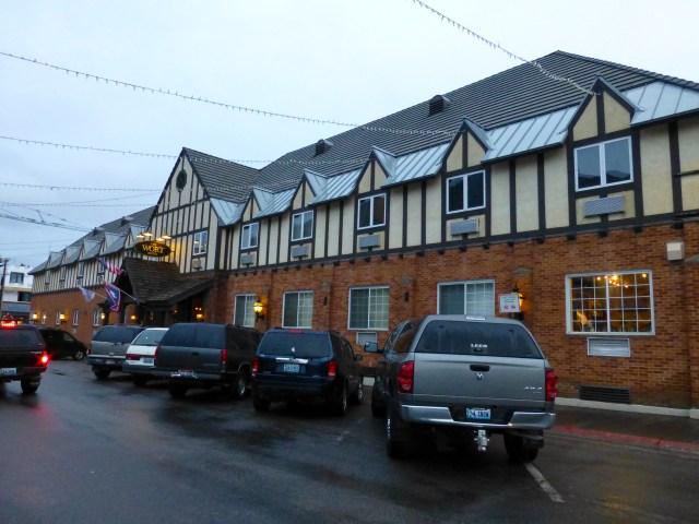 O histórico The Wort Hotel