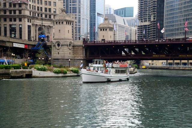 Os rios e canais de navegação fizeram a força de Chicago.