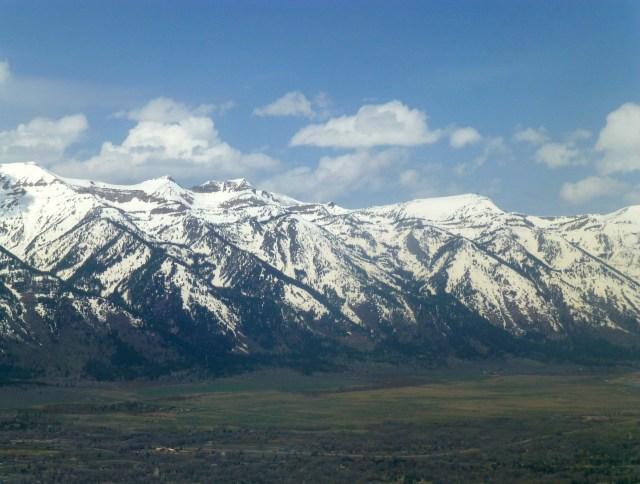 As Montanhas do Grand Teton.