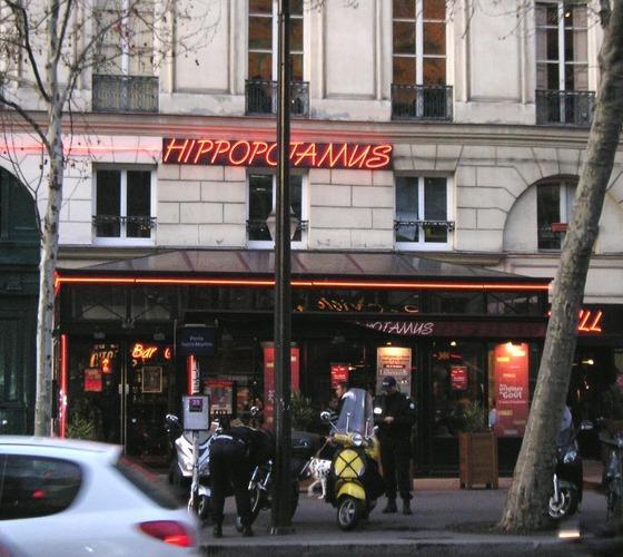 Restaurante Hippopotamus do Quartier Ópera