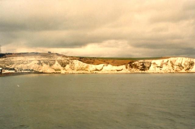 As falésias de Dover