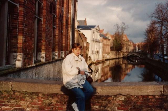 Os canais de Bruges