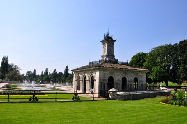 Detalhes do Hyde Park
