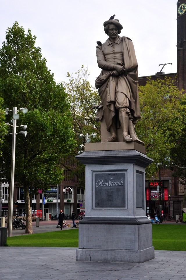A Praça Rembrant.