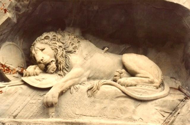 O maravilhoso Leão de Lucerna