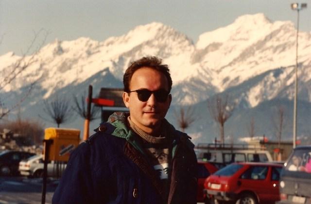 Chegando a Vaduz no Liechtenstein