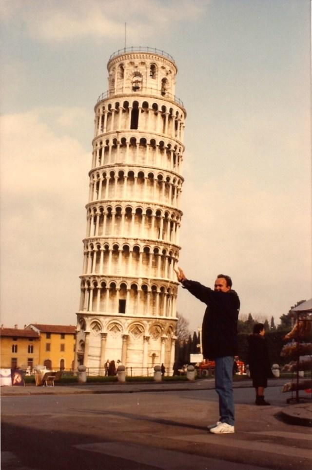 Sustentando a Torre de Pisa