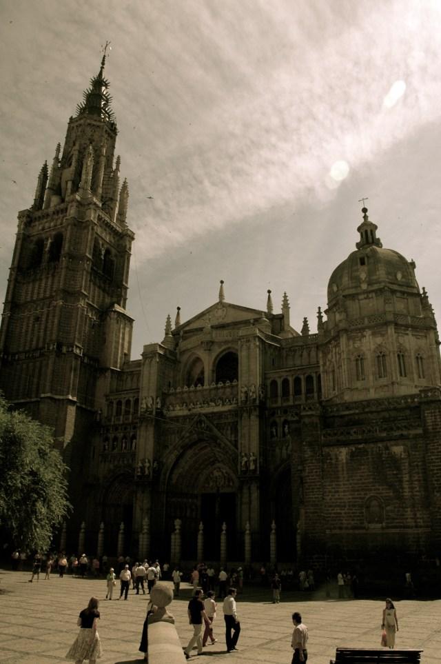 A maravilhosa Catedral de Toledo.