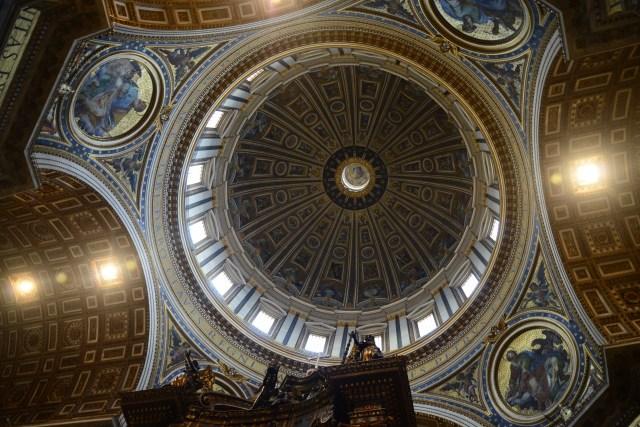 O maravilhoso Domo criado por Michelangelo.
