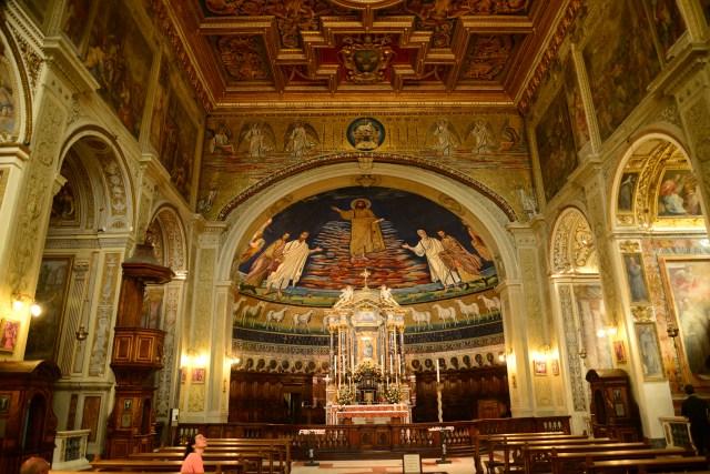 A Igreja de São Cosme e São Damião em Roma