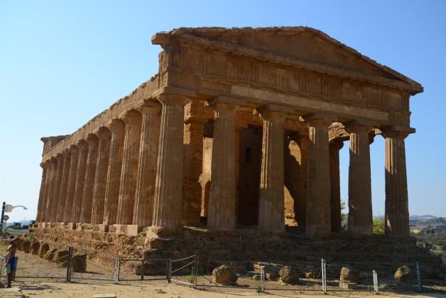 As ruínas de Agrigento estão entre as mais bem preservadas do Mundo.