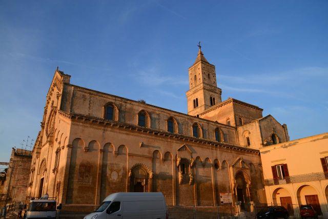 O Duomo de Matera.