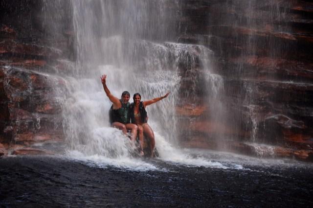 A Cachoeira do Buracão
