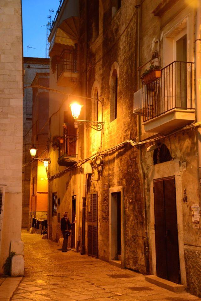 Os becos de Bari.