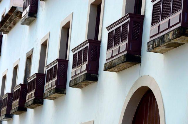 Detalhe de um casarão colonial de Olinda.