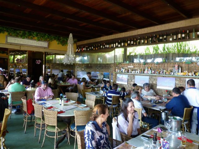O restaurante Beijupirá.