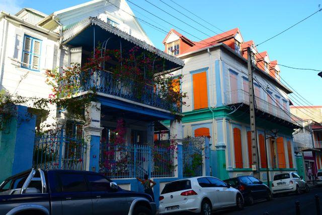 A arquitetura européia tem forte influência no Caribe.