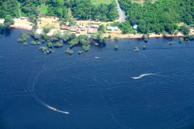 Vista do Rio Negro