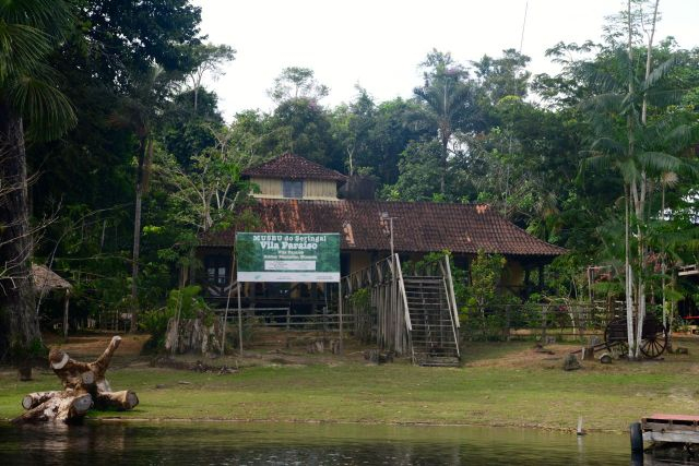 O Museu da Serigueira na Amazônia.