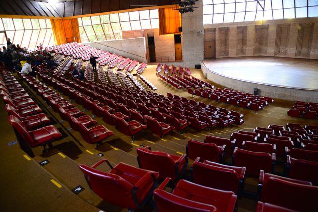 Vista do Auditório.
