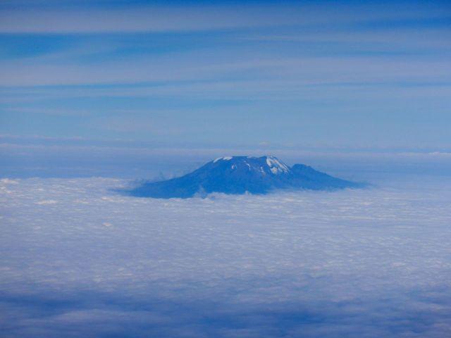 O Monte Kilimanjaro, na Tanzânia