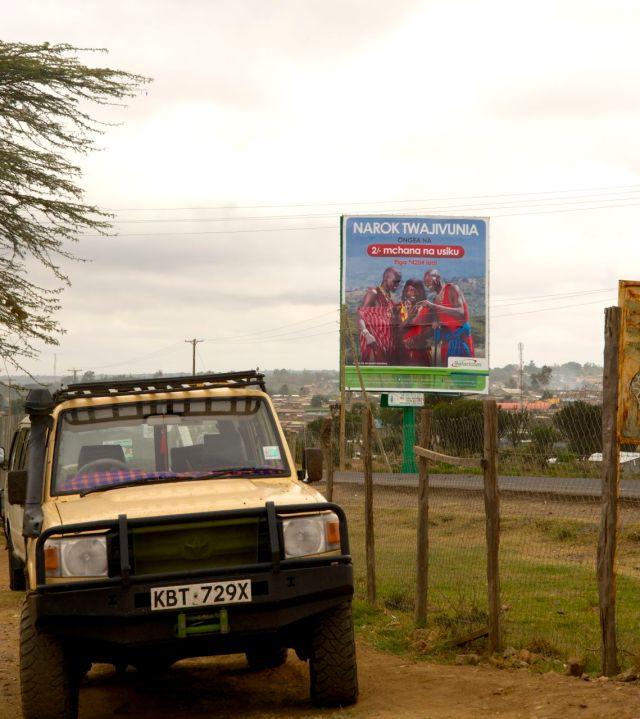 Narok, a cidade Masai.