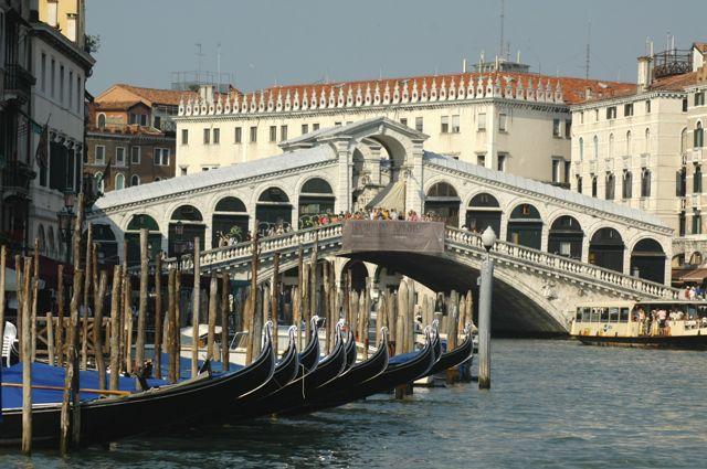 O Grande Canal de Veneza.