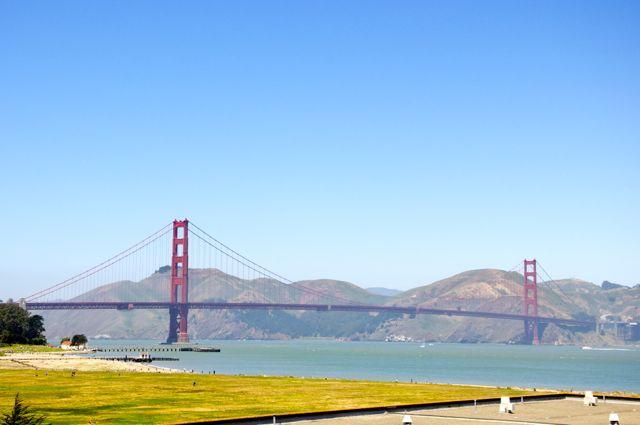 A Golden Gate em São Francisco.