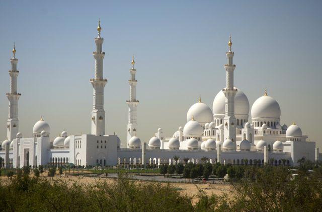 A Grande Mesquita de Abu Dhabi