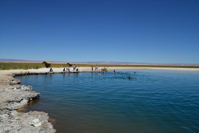 A Laguna de Pedras.