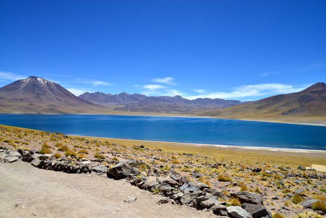 Uma das Lagunas Altiplânicas.