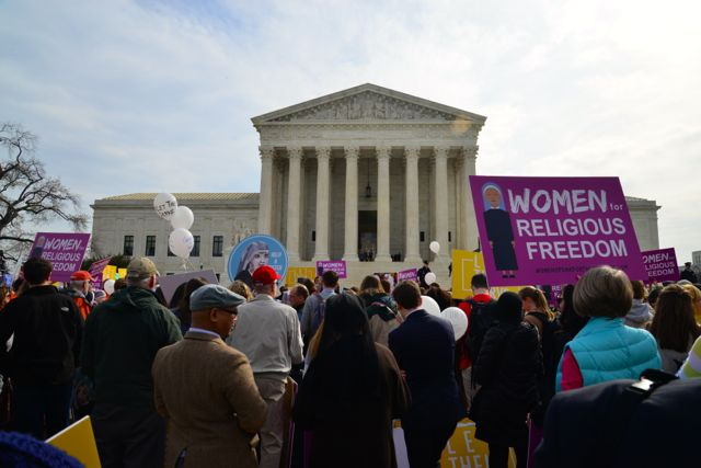 O edifício da Suprema Corte dos Estados Unidos.