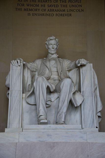 O Memorial a Lincoln, um dos símbolos de Washington