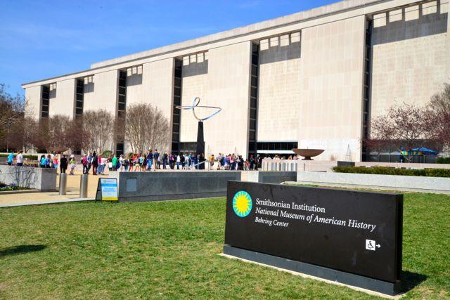O Museu Nacional da História Americana.
