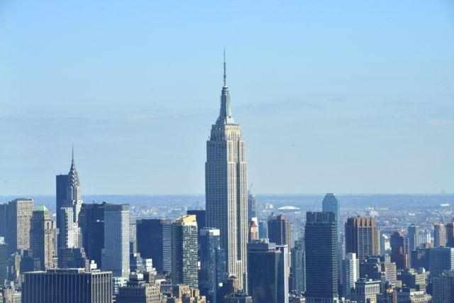O Empire State Building.